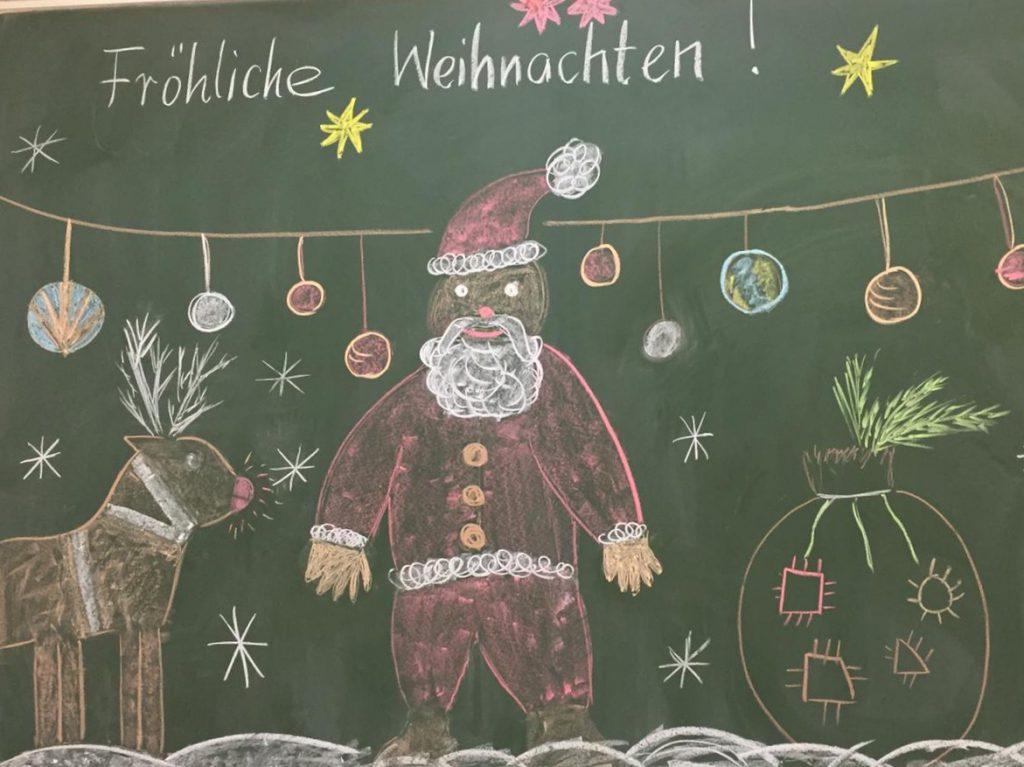 Weihnachtsgrüße Grundschule.Weihnachtsgruß Der Grundschule Gymnasiales Schulzentrum Felix